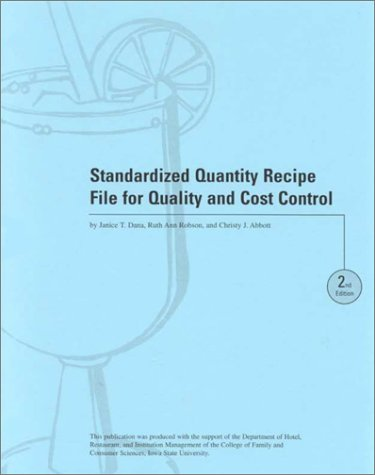 Standrdzd Qty Recipe File Ins-99-2 with Other