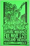 Suicidal Tendencies Suicide Machines Rare Original Punk Flyer Concert Poster