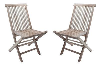 2x Klappstuhl Java Teak Gartenstuhl Holzstuhl Garten von dynamic24 auf Gartenmöbel von Du und Dein Garten