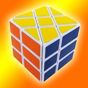 QJ 3x3x2 Fisher HOT WHEEL SKEWB Magic Cube Puzzle Brain Teaser Zauberwürfel - MC317 [Toy]