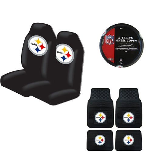 steelers seat covers pittsburgh steelers seat cover steelers seat cover. Black Bedroom Furniture Sets. Home Design Ideas