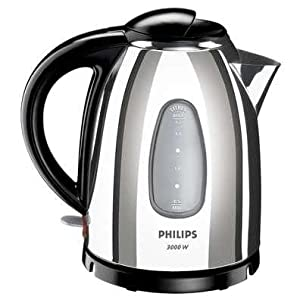 Philips HD4666/22 Gloss Metal Kettle 1.7lt 3000w