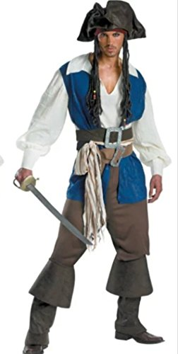 NonEcho Costumes for Men Pirate 2015 Halloween Costume Party Outfit