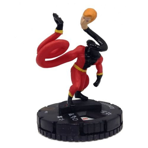 Heroclix DC The Flash #051 Elongated Man Figure Complete with Card