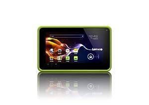 "Lenco CoolTab-70 Tablette tactile 7"" (17,78 cm) ARM 11 2818 1,2 GHz 4 Go Android Ice Cream Sandwich 4.0.4 Wi-Fi Vert"