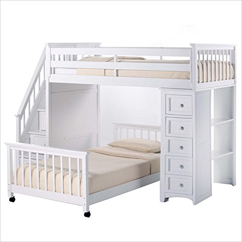 Bunk Beds With Stairs 8229 front