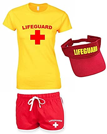 LIFEGUARD Ladies Outfit Amazon.co.uk Clothing