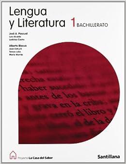 Proyecto La Casa del Saber, lengua y literatura, 1