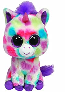 TY - Peluche unicornio, 15 cm, multicolor (United Labels 36082TY)