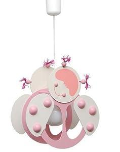 Splendida lampada lampadario grande 33cm x 20cm cameretta bambini in legno casa e - Lampadari x camerette bambini ...