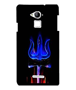 printtech Lord shiva Trishul Om Back Case Cover for COOLPAD NOTE 3 / COOLPAD NOTE 3 PLUS