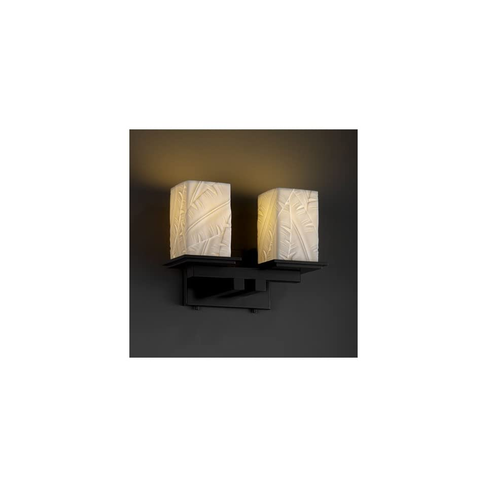 Justice Design Group POR 8672 15 BANL MBLK Limoges 2 Light