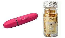 COMBO -ANIMATE Aloe Vera & Vitamin E Facial Oil 60 Soft Cel WITH mimi eye massager. PLS SEE FREE GIFT IMAGE ...