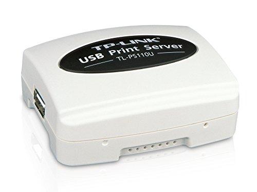 TP-LINK TL-PS110U Single USB2.0 port fast ethernet Print Server, supports E-mail Alert, Internet Printing Protocol (IPP) SMB
