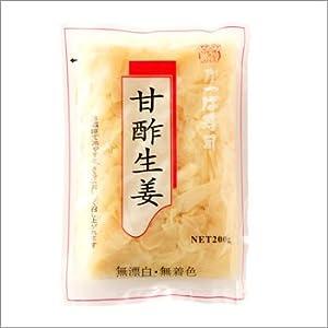 【かっぱ寿司】大人気自慢の「がり」をご家庭にお届け ガリ/生姜甘酢漬け 400gの食べきりサイズ 2パックセット