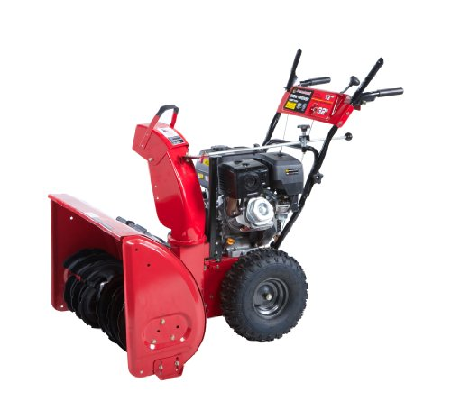 Powerland Pdst32E 2 Stagegas Snow Blower, 32-Inch