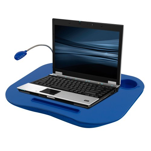 Laptop Buddy Laptop Desk and Cup Holder – Blue (72-698006)