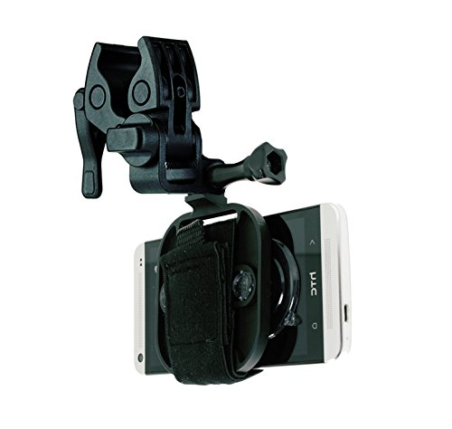 Action Mount® – Multi-Purpose Sportsman's Mount for Any Smartphone: Clamp Attaches to Sports Fishing Rod, Bow, Shotgun, Rifle, Paintball and More. Includes Universal Mount Adapter, Operable with Any Phone. Strongest Hold on the Market. Use the Device You Already Own.
