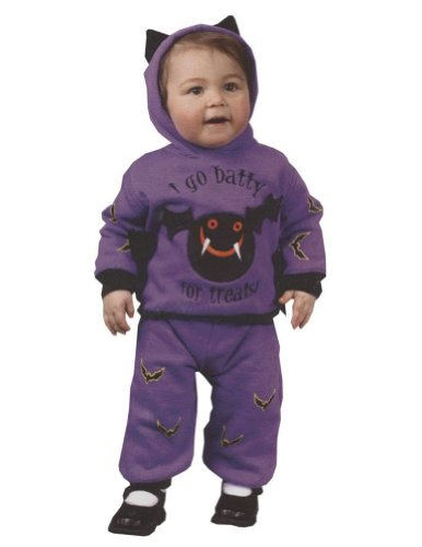 Hooded Bat 2Pc Toddler Costume 18 24 Months - Toddler Halloween Costume
