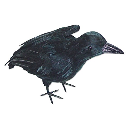 Large Realistic Black Crow - 1