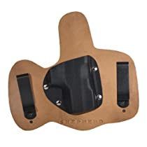 Conceal Max- Right Handed, Horse Hide, Springfield XD Compact- Shepherd Leather IWB Holster