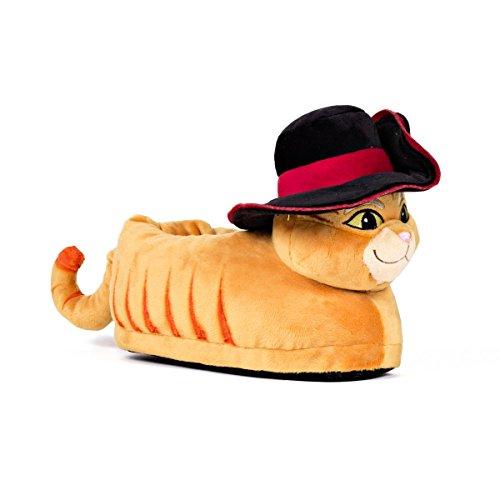 Sleeper'z - Shrek DreamWorks - Pantofole Gatto con gli Stivali - S