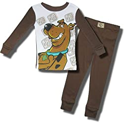 "Scooby-Doo ""Big Dog Smile"" Cotton 2 piece pajama set for toddler boys"