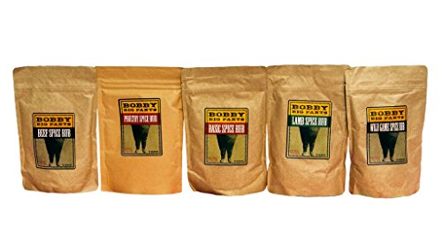 BOBBY BIG PANTS Basic Spice Rub, Wild Game, 8 Ounce Apparel ...