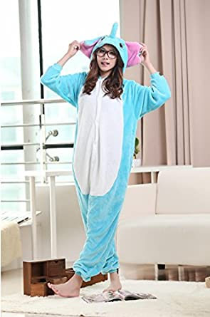 Elephants High Quality Animal Shaped Winter Hoodie Sleepwear Cosplay Costume