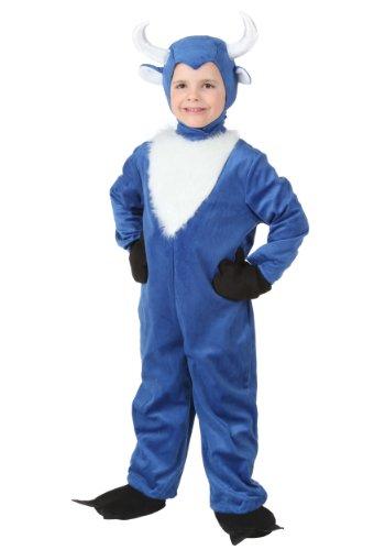 [Little Boys' Toddler Blue Ox Costume] (Paul Bunyan Babe Halloween Costume)