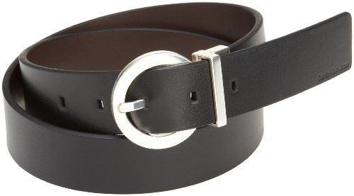 Calvin Klein Women'S Basic Reversible Belt,Black/ Brown,Large