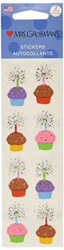 Mrs. Grossman's Stickers-Cupcakes - 1