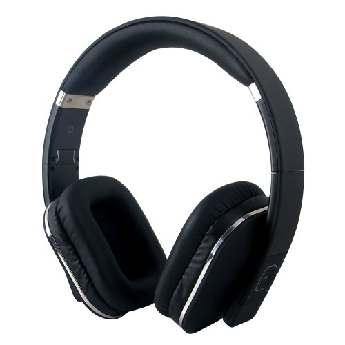 Purchase August EP650 Bluetooth Wireless Stereo NFC Headphones - Comfortable Leather Cushioned Heads...