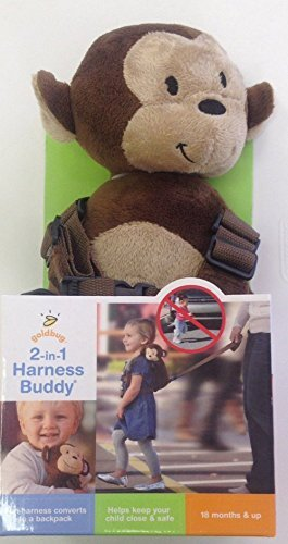 Goldbug 2 in 1 Safety Harness - Monkey - 1