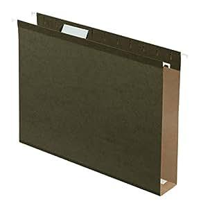 Pendaflex Extra Capacity Reinforced Hanging Folders, Letter Size, Standard Green, 25 per Box (4152x2)