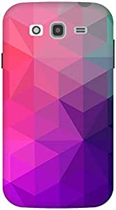 The Racoon Lean Purple Crystal Stars hard plastic printed back case / cover for Samsung Galaxy Grand Neo