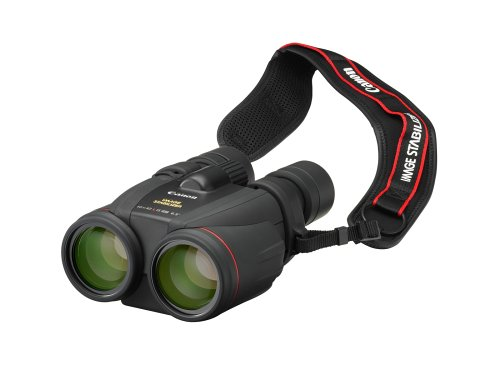 Canon 10 x 42L Image Stabilising Water Proof Binoculars with Neck Strap  &  Case