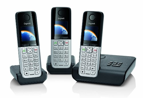 Gigaset C300A Trio DECT Cordless Phone Set with Answer Machine image