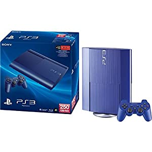 Sony PlayStation 3 250GB Console - Blue Azure by Sony