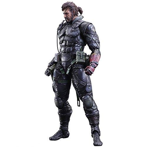 """Play Arts Kai """"Metal Gear Solid V"""":The Phantom Pain""""Venom snake Sneaking Suit ver."""" fait de PVC,painted, mobile figure/SQUARE ENIX JAPON"""