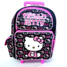 "Hello Ktty 16"" Rolling Backpack For Kids - Brand New - Licensed Product"