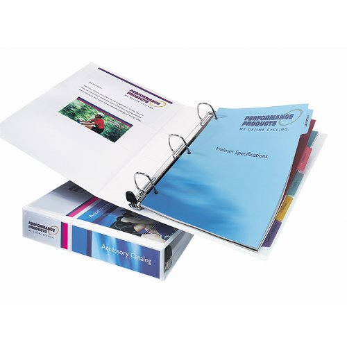 avery heavy duty view binder with 1 5 inch one touch ezd ring white