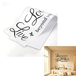 Pegatina Adhesivo vinilo decorativo pared Letras 23.5*70CM   Revisión del cliente y más noticias