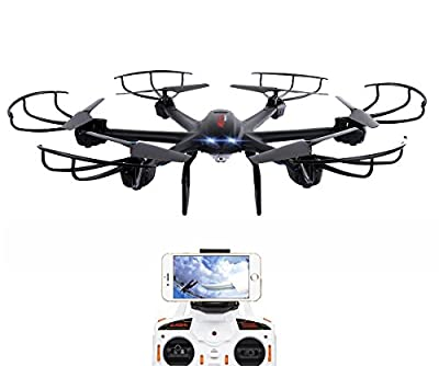DBPOWER X600C FPV RC 2.4GHz 4 Chanel 6 Axis Gyro Quadcopter with Wifi Camera by dbpower