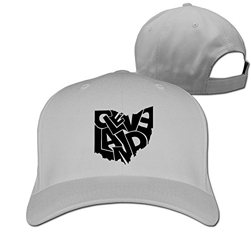 unisex-cleveland-ohio-bumper-sticker-adjustable-ash-strapback-baseball-hat