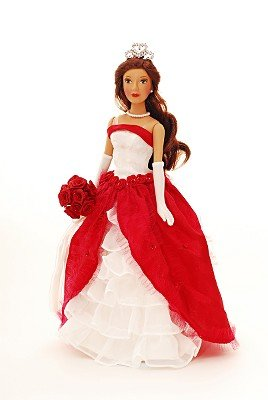 Princess Quinceanera 14in Porcelain Doll Red - Buy Princess Quinceanera 14in Porcelain Doll Red - Purchase Princess Quinceanera 14in Porcelain Doll Red (Princess Quinceanera, Toys & Games,Categories,Dolls,Porcelain Dolls)