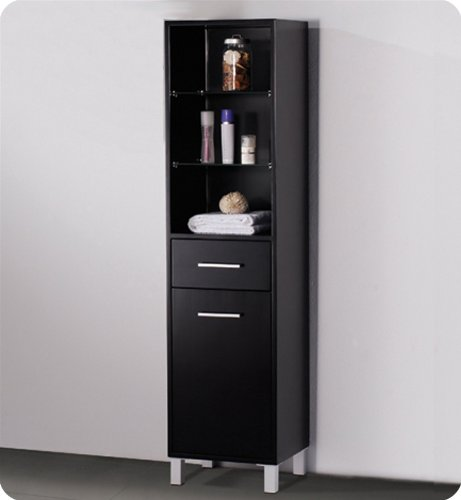 Popular You will see more data pare cost plus read examine customer opinions ahead of buy Fresca Espresso Bathroom Linen Cabinet w Open Shelves
