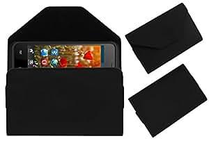 Acm Premium Pouch Case For Swipe Konnect Neo Flip Flap Cover Holder Black