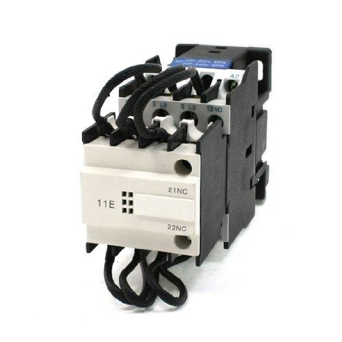 220-240V 60Hz Coil 3 Pole 1 No 1Nc Switch-Over Capacitor Contactor 380V 25A