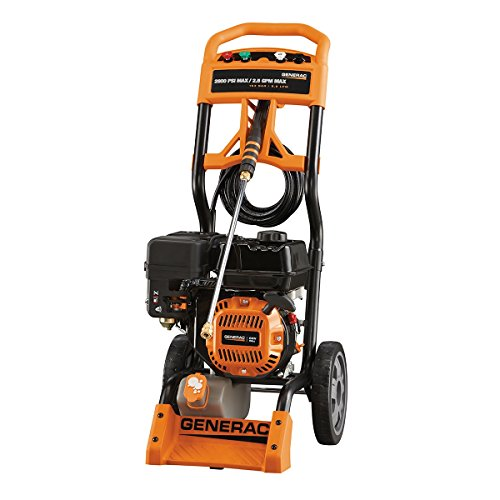 Generac 6596 2 800 psi 2 5 gpm 196cc ohv gas powered - Turn garden hose into pressure washer ...